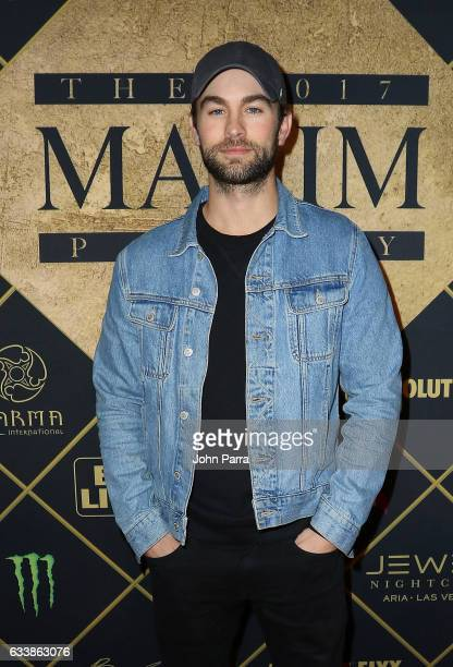 Actor Chace Crawford arrives at the Maxim Super Bowl Party on February 4 2017 in Houston Texas