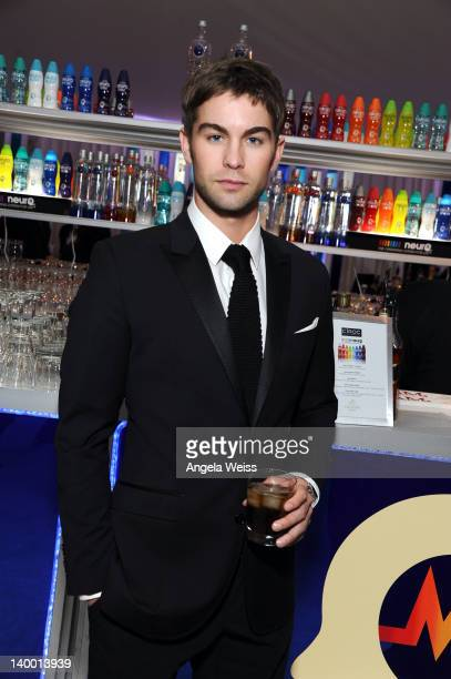 Actor Chace Crawford attends CIROC Vodka at 20th Annual Elton John AIDS Foundation Academy Awards Viewing Party at The City of West Hollywood Park on...