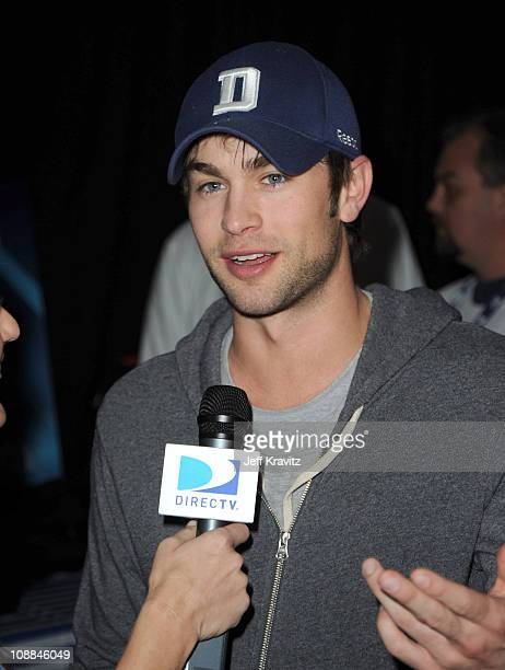 Actor Chace Crawford attends DIRECTV's Fifth Annual Celebrity Beach Bowl at Victory Park on February 5 2011 in Dallas Texas