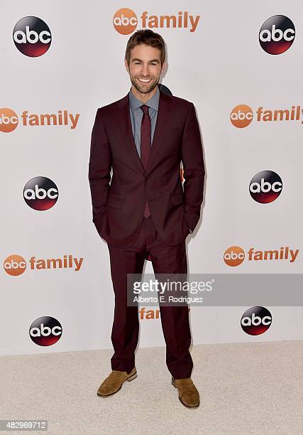 Actor Chace Crawford attends Disney ABC Television Group's 2015 TCA Summer Press Tour at the Beverly Hilton Hotel on August 4 2015 in Beverly Hills...