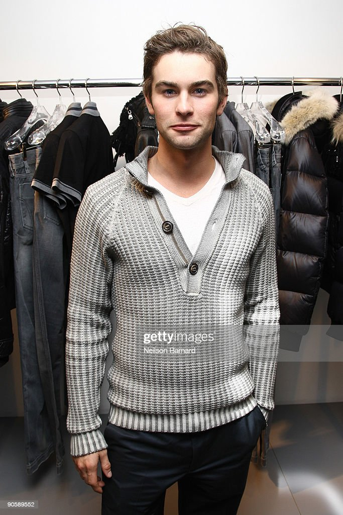 Actor Chace Crawford attends Dolce Gabbana's celebration for Fashion's Night Out at the Dolce Gabbana Boutique on September 10 2009 in New York City