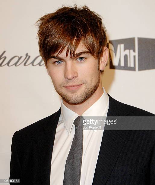 Actor Chace Crawford attends the 16th Annual Elton John AIDS Foundation Oscar Party at the Pacific Design Center on February 24 2008 in West...