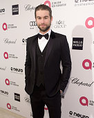Actor Chace Crawford attends the 23rd Annual Elton John AIDS Foundation Academy Awards viewing party with Chopard on February 22 2015 in Los Angeles...
