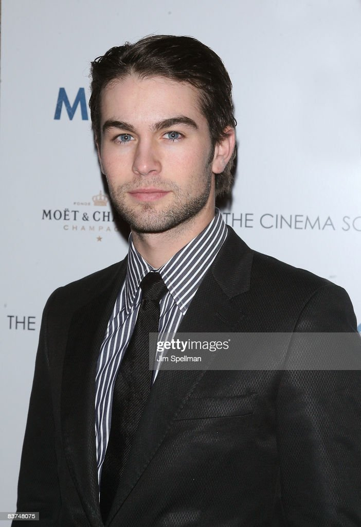 Actor Chace Crawford attends the Cinema Society and Details screening of 'Milk' at the Landmark Sunshine Theater on November 18, 2008 in New York City.
