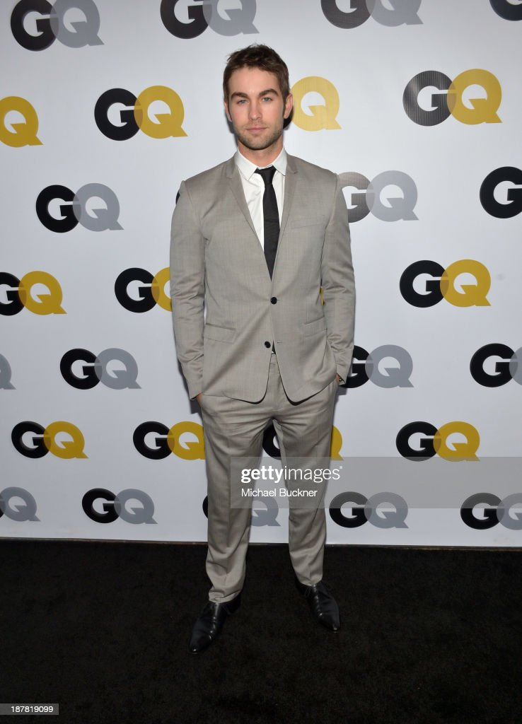 Actor <a gi-track='captionPersonalityLinkClicked' href=/galleries/search?phrase=Chace+Crawford&family=editorial&specificpeople=4238517 ng-click='$event.stopPropagation()'>Chace Crawford</a> attends the GQ Men Of The Year Party at The Ebell Club of Los Angeles on November 12, 2013 in Los Angeles, California.