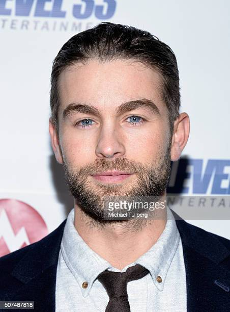 Actor Chace Crawford attends the premiere of Level 33 Entertainment's film 'Mountain Men' at Arena Cinema Hollywood on January 29 2016 in Hollywood...
