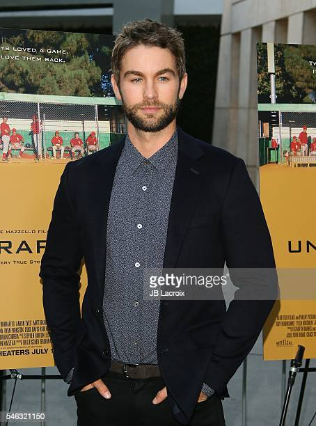 Actor Chace Crawford attends the premiere of Vertical Entertainment's 'Undrafted' on July 11 2016 in Hollywood California