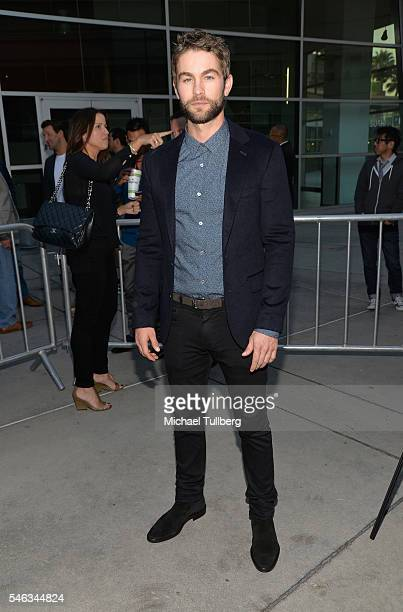 Actor Chace Crawford attends the premiere of Vertical Entertainment's 'Undrafted' at ArcLight Hollywood on July 11 2016 in Hollywood California