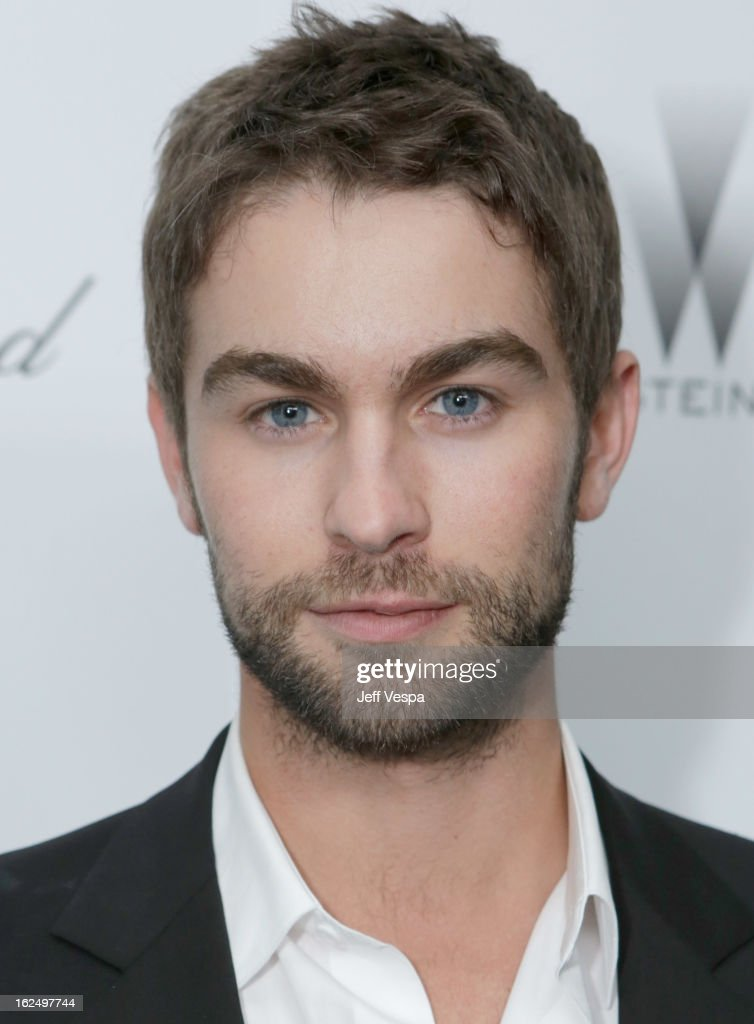 Actor <a gi-track='captionPersonalityLinkClicked' href=/galleries/search?phrase=Chace+Crawford&family=editorial&specificpeople=4238517 ng-click='$event.stopPropagation()'>Chace Crawford</a> attends The Weinstein Company Academy Award Party hosted by Chopard at Soho House on February 23, 2013 in West Hollywood, California.