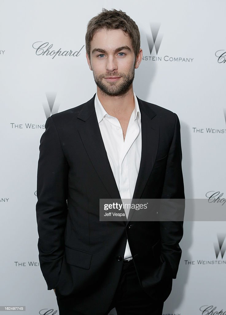 Actor Chace Crawford attends The Weinstein Company Academy Award Party hosted by Chopard at Soho House on February 23, 2013 in West Hollywood, California.