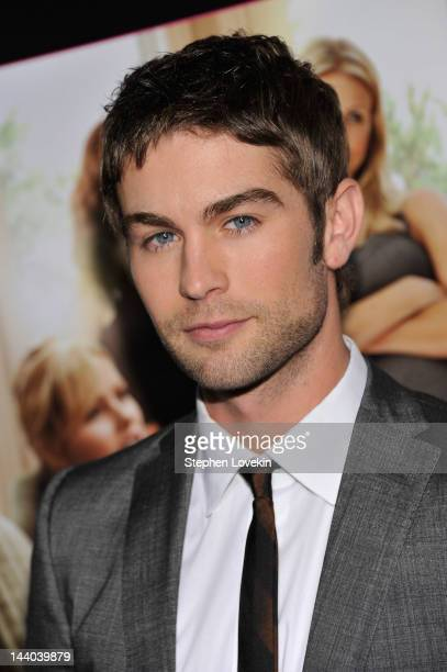 Actor Chace Crawford attends the 'What To Expect When You're Expecting' New York Screening at AMC Lincoln Square Theater on May 8 2012 in New York...