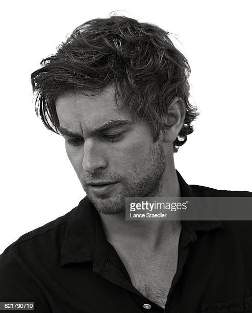 Actor Chace Crawford poses for a portrait shoot on June 2 2009 in Los Angeles California