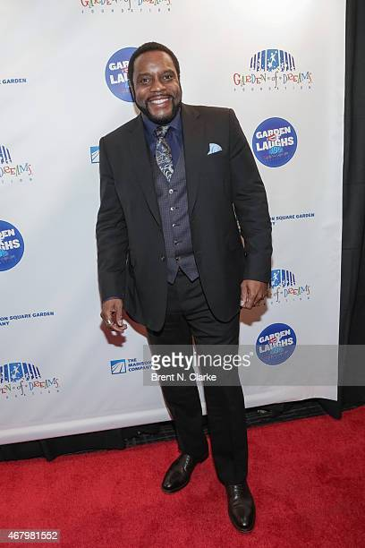 Actor Chad Coleman arrives for the 2015 Garden Of Laughs Comedy Benefit at the Club Bar and Grill at Madison Square Garden on March 28 2015 in New...