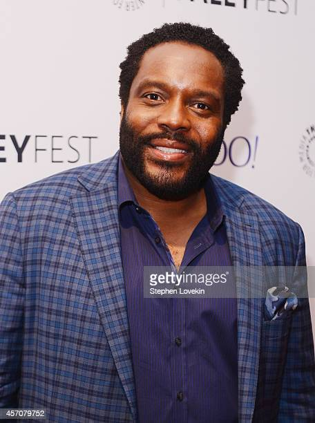 Actor Chad Coleman attends The 2nd Annual Paleyfest New York Presents 'The Walking Dead' at Paley Center For Media on October 11 2014 in New York New...