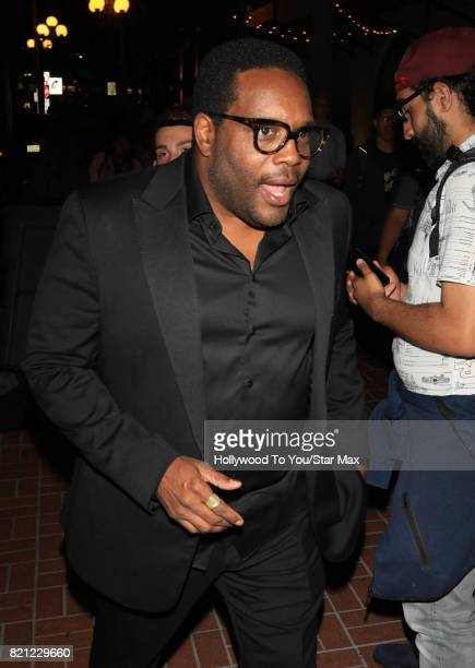 Actor Chad Coleman is seen on July 22 2017 at Comic Con in San Diego CA