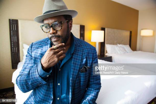 Actor Chad Coleman photographed for NY Daily News on October 7 2016 in New York City
