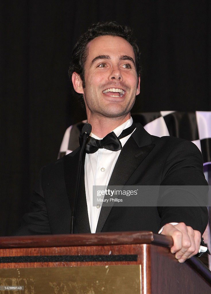 Actor Chad Doreck speaks during the Toyota Charity Ball on April 13, 2012 in Long Beach, California.