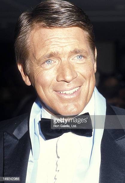 Actor Chad Everett attends the 31st Annual Thalians Ball on October 11 1986 at the Century Plaza Hotel in Century City California