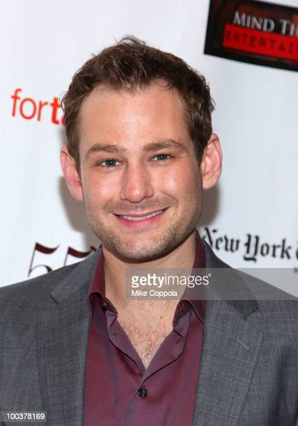 Actor Chad Kimball arrives at the 55th Annual Drama Desk Awards at the FH LaGuardia Concert Hall at Lincoln Center on May 23 2010 in New York City