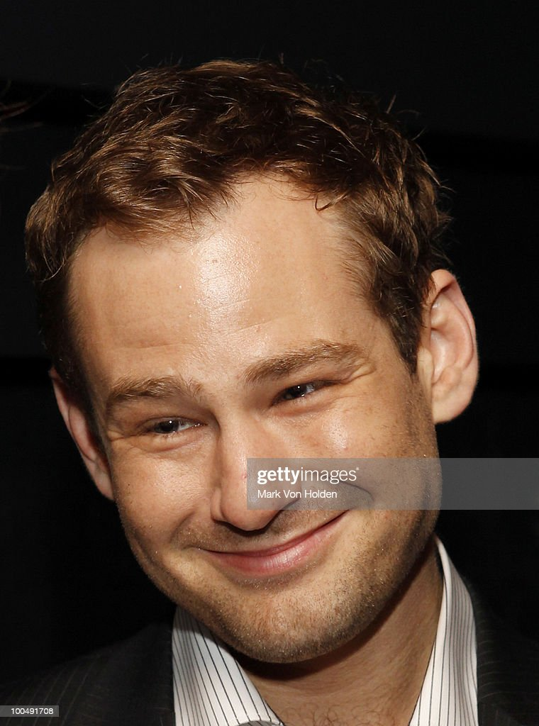 Actor Chad Kimball attends Everlon Diamond Knot Strength Of Love Dinner For Cast of Broadway's Memphis at Double Crown Restaurant on May 24, 2010 in New York City.