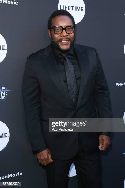Actor Chad L Coleman attends the fan gala and advance screening for 'Michael Jackson Searching For Neverland' at Avalon on May 23 2017 in Hollywood...