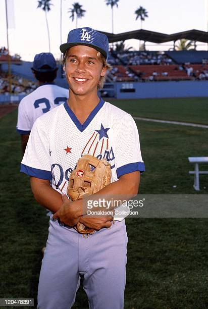 Actor Chad Lowe attends a celebrity event at Dodger Stadium circa 1987 in Los Angeles California