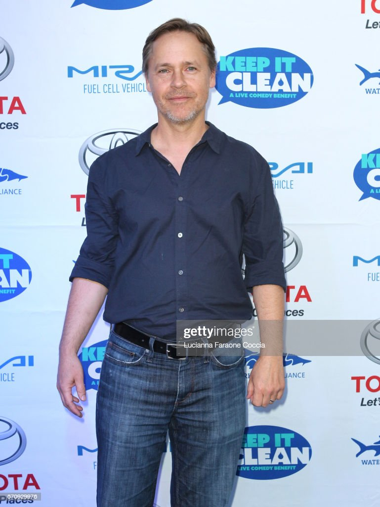 Actor Chad Lowe attends Keep It Clean Live Comedy Benefit for Waterkeeper Alliance at Avalon Hollywood on April 20, 2017 in Los Angeles, California.