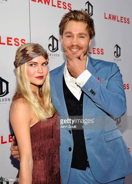 Actor Chad Michael Murray and Kenzie Dalton arrive at 'LAWLESS' premiere in Los Angeles hosted By DeLeon and Presented by The Weinstein Company...
