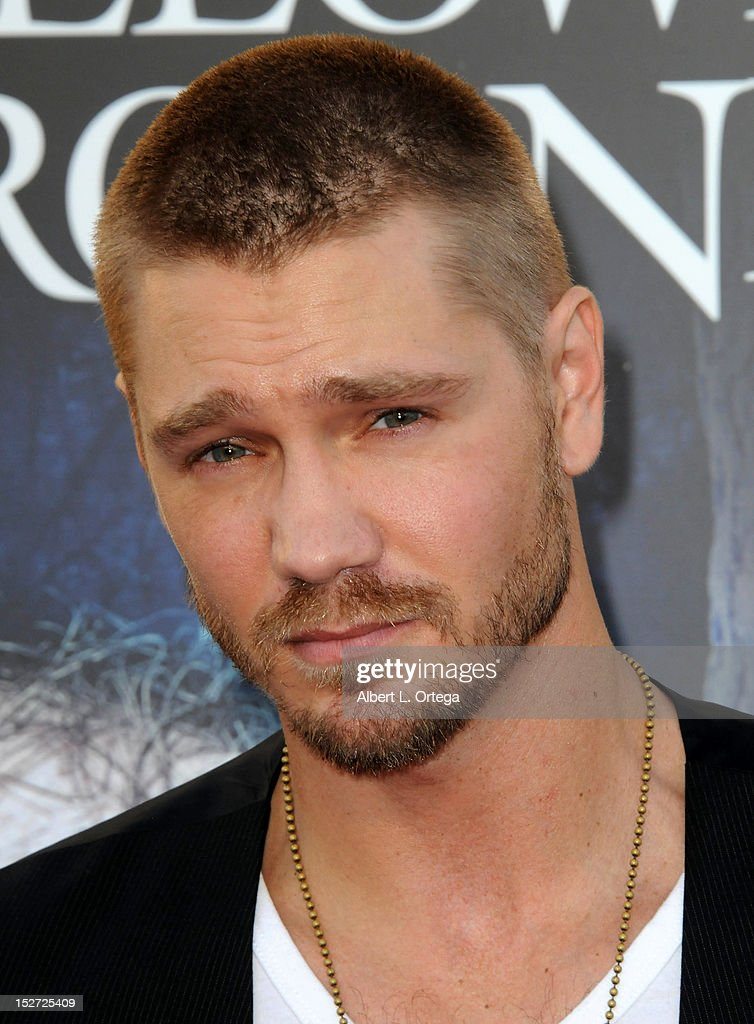 Actor <a gi-track='captionPersonalityLinkClicked' href=/galleries/search?phrase=Chad+Michael+Murray&family=editorial&specificpeople=201751 ng-click='$event.stopPropagation()'>Chad Michael Murray</a> arrives for Universal Studios Hollywood 'Halloween Horror Night' and Eye Gore Awards Kick Off Party held at Universal Studios Hollywood on September 21, 2012 in Universal City, California.