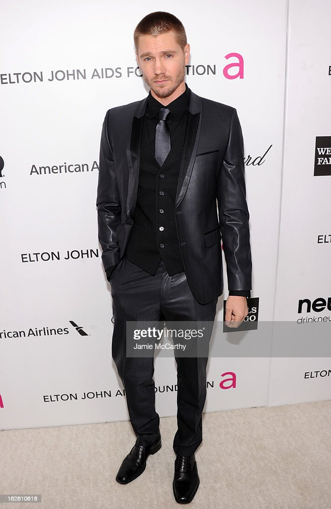 Actor Chad Michael Murray attends the 21st Annual Elton John AIDS Foundation Academy Awards Viewing Party at West Hollywood Park on February 24, 2013 in West Hollywood, California.
