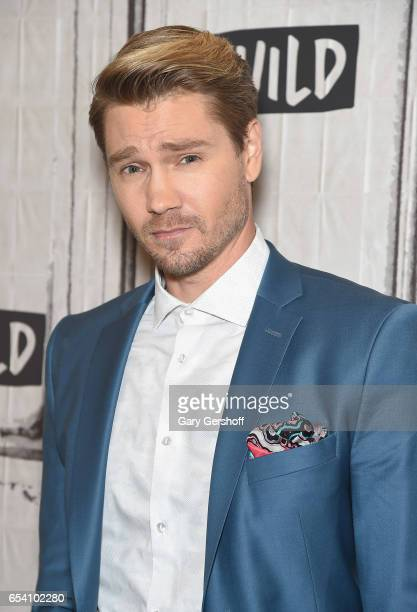 Actor Chad Michael Murray attends the Build Series to discuss his role in the series 'Sun Records' at Build Studio on March 16 2017 in New York City