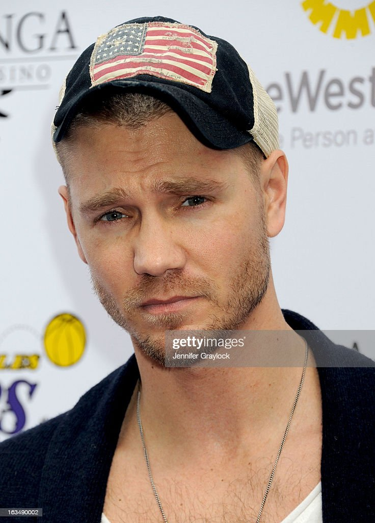 Actor <a gi-track='captionPersonalityLinkClicked' href=/galleries/search?phrase=Chad+Michael+Murray&family=editorial&specificpeople=201751 ng-click='$event.stopPropagation()'>Chad Michael Murray</a> attends the Lakers Casino Night held at Club Nokia on March 10, 2013 in Los Angeles, California.