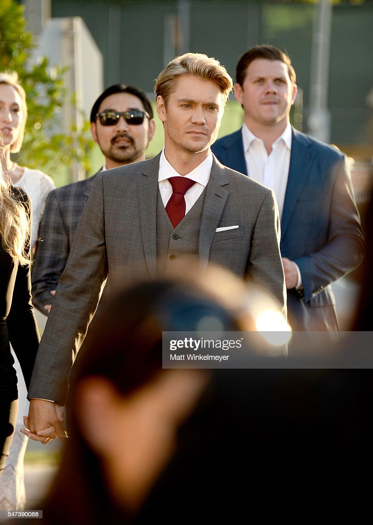 Actor Chad Michael Murray attends the premiere of Momentum Pictures' 'Outlaws And Angels' at Ahrya Fine Arts Movie Theater on July 12, 2016 in Beverly Hills, California.