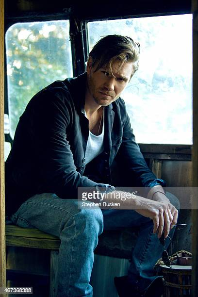 Actor Chad Michael Murray is photographed for Glamoholic on January 21 2015 in Malibu California