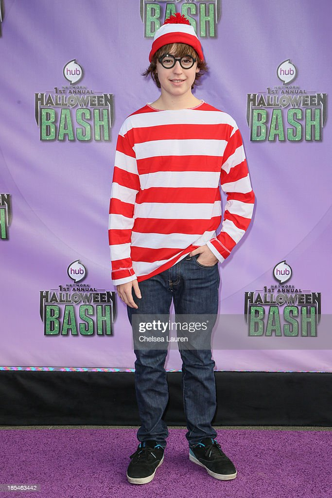 Actor Chad Roberts arrives at Hub Network's 1st annual Halloween bash at Barker Hangar on October 20, 2013 in Santa Monica, California.