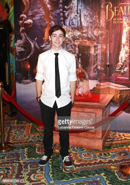 Actor Chad Roberts attends Red Walk special screening of Disney's 'Beauty And The Beast' at El Capitan Theatre on March 23 2017 in Los Angeles...