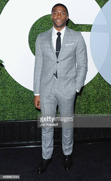 Actor Chadwick Boseman arrives at the 2014 GQ Men Of The Year Party at Chateau Marmont on December 4 2014 in Los Angeles California