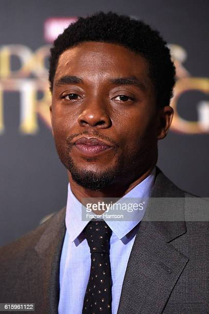 Actor Chadwick Boseman attends the Premiere of Disney and Marvel Studios' 'Doctor Strange' on October 20 2016 in Hollywood California