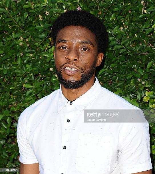Actor Chadwick Boseman attends the Rape Foundation's annual brunch on September 25 2016 in Beverly Hills California