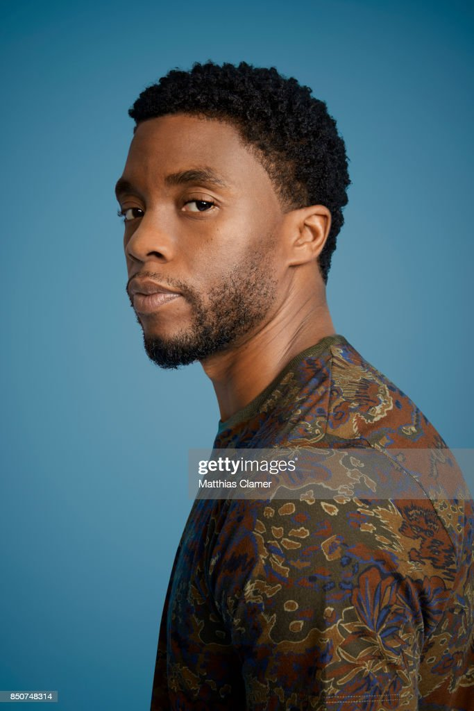 Actor Chadwick Boseman from Black Panther is photographed for Entertainment Weekly Magazine on July 22, 2017 at Comic Con in San Diego, California.
