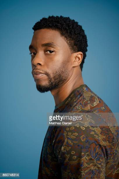 Actor Chadwick Boseman from Black Panther is photographed for Entertainment Weekly Magazine on July 22 2017 at Comic Con in San Diego California ON...