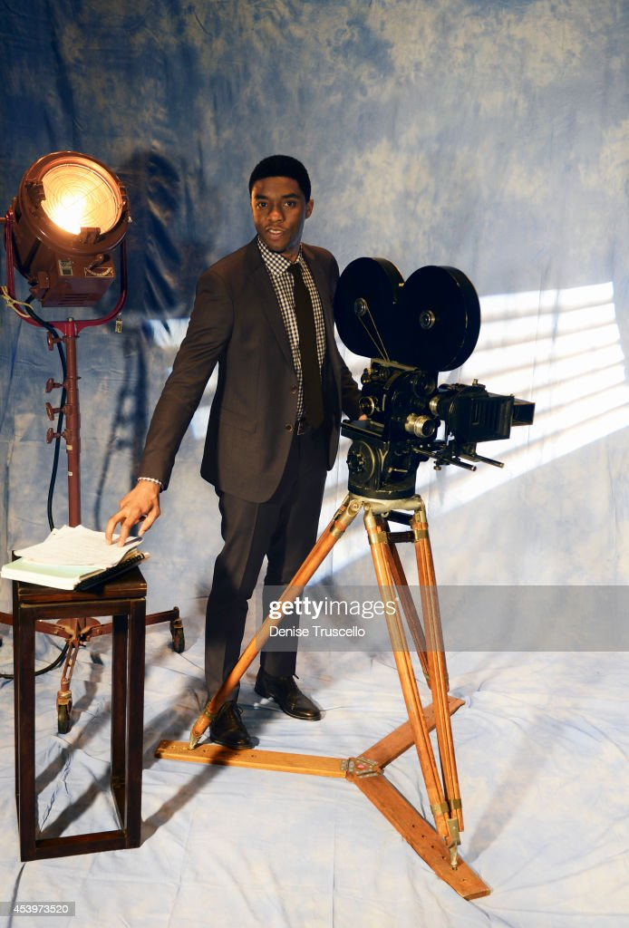 Actor Chadwick Boseman is photographed for People Magazine on March 27 2014 in Las Vegas Nevada