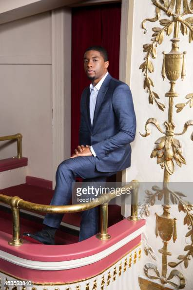 Actor Chadwick Boseman is photographed for USA Today on July 19 2014 in New York City