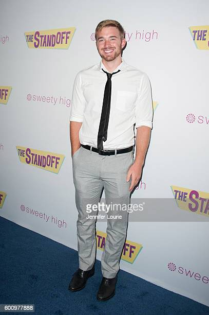 Actor Chandler Massey arrives at the Premiere of Vision Films' 'The Standoff' at Regal LA Live A Barco Innovation Center on September 8 2016 in Los...