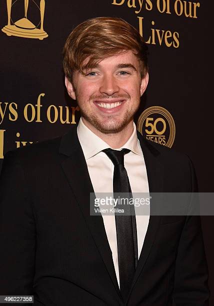 Actor Chandler Massey attends the Days Of Our Lives' 50th Anniversary Celebration at Hollywood Palladium on November 7 2015 in Los Angeles California