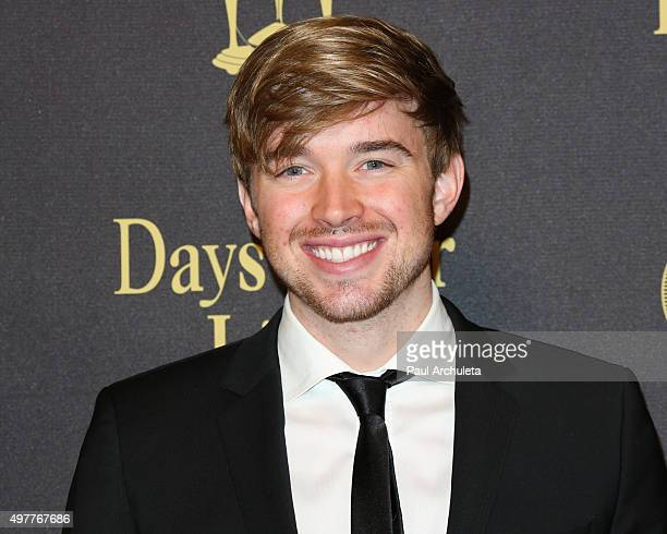 Actor Chandler Massey attends the 'Days Of Our Lives' 50th Anniversary at the Hollywood Palladium on November 7 2015 in Los Angeles California