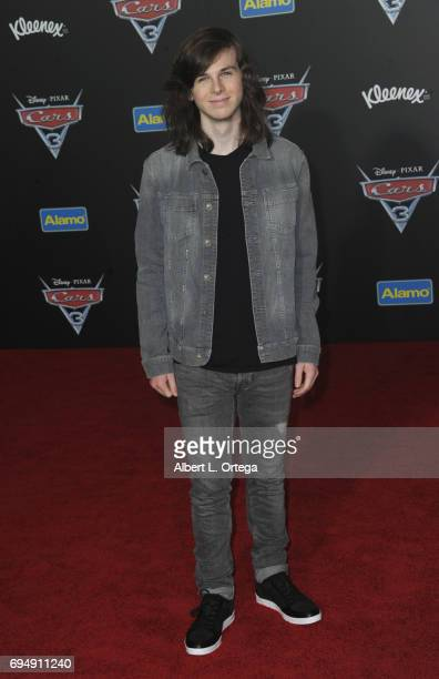 Actor Chandler Riggs arrives for the Premiere Of Disney And Pixar's 'Cars 3' held at Anaheim Convention Center on June 10 2017 in Anaheim California