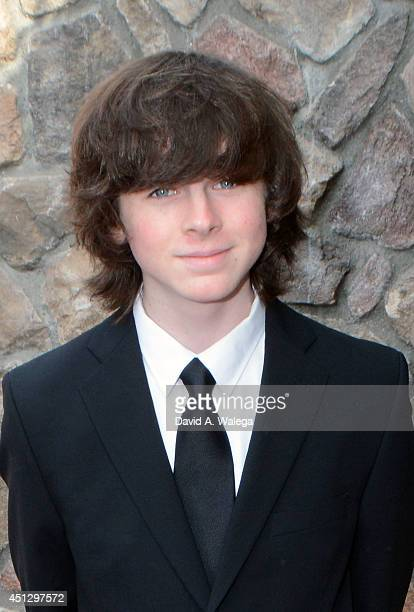 Actor Chandler Riggs attends the Academy of Science Fiction Fantasy and Horror Films' 40th Annual Saturn Awards at The Castaway on June 26 2014 in...
