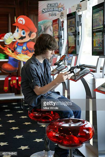 Actor Chandler Riggs attends the Nintendo Lounge On The TV Guide Magazine Yacht At ComicCon #TVGMYacht during San Diego ComicCon International 2014...