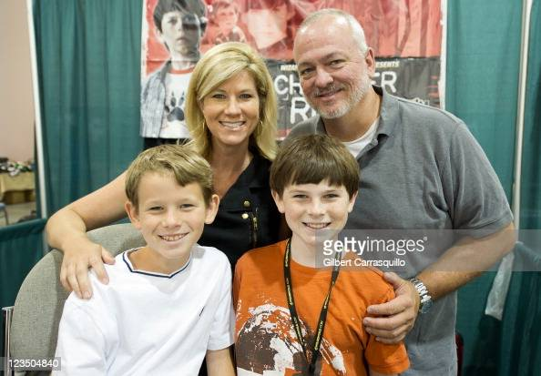 Actor Chandler Riggs brother Grayson...